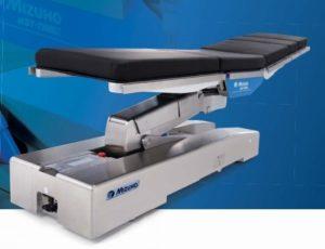 顕微鏡手術に特化した脳神経外科手術用ベッド。