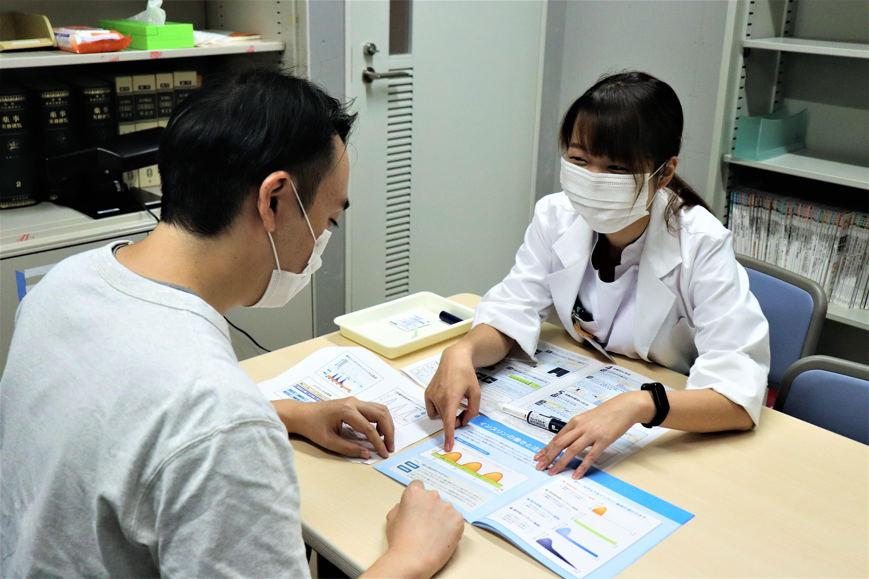 薬剤師によるインスリン注射指導