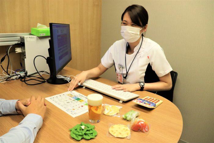 管理栄養士による栄養指導