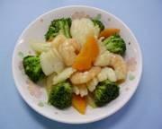 中華風海鮮炒め